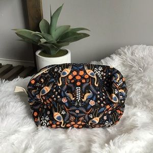 Floral & Animal Bohemian Print Makeup Bag